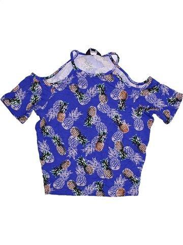 T-shirt sans manches fille NEW LOOK violet 13 ans été #1305822_1