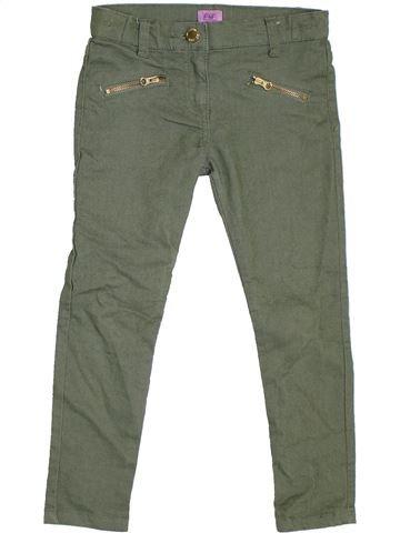 Pantalon fille F&F vert 6 ans hiver #1305842_1