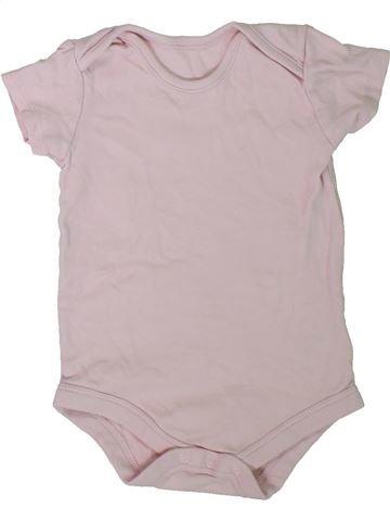 T-shirt manches courtes fille TU gris 18 mois été #1305884_1