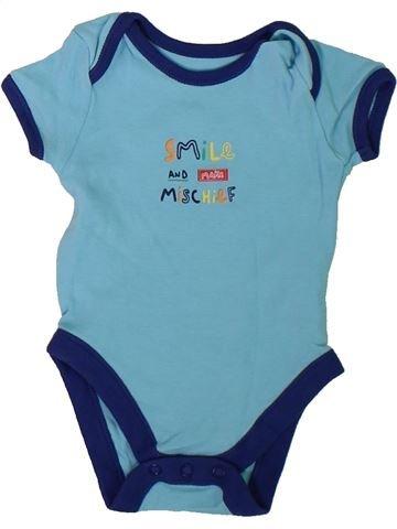 Camiseta de manga corta niño GEORGE azul 6 meses verano #1305886_1
