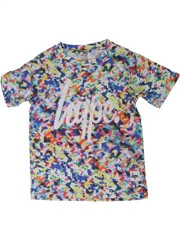 T-shirt manches courtes garçon HYPE KIDS gris 8 ans été #1305954_1