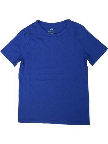 Camiseta de manga corta niño H&M azul 10 años verano #1306052_1