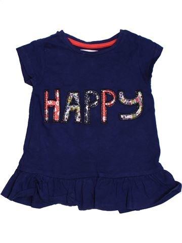 T-shirt manches courtes fille TU bleu 18 mois été #1306059_1