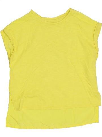 T-shirt manches courtes fille RIVER ISLAND jaune 6 ans été #1306106_1