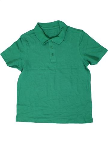 Polo de manga corta niño GEORGE verde 9 años verano #1306114_1