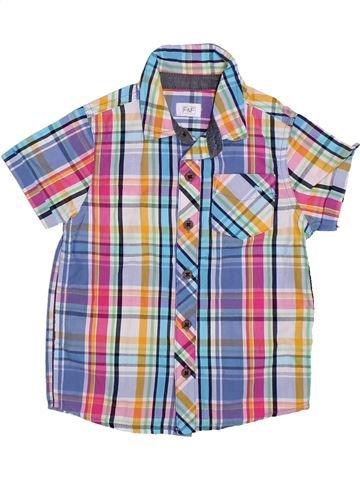 Camisa de manga corta niño F&F violeta 3 años verano #1306176_1