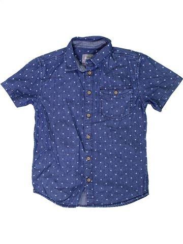 Camisa de manga corta niño PRIMARK azul 10 años verano #1306198_1