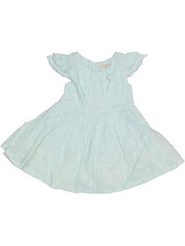 Vestido niña BHS verde 9 meses verano #1306208_1