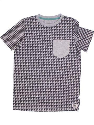 T-shirt manches courtes garçon F&F gris 11 ans été #1306220_1