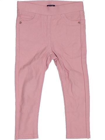 Pantalón niña KIABI rosa 2 años invierno #1306254_1
