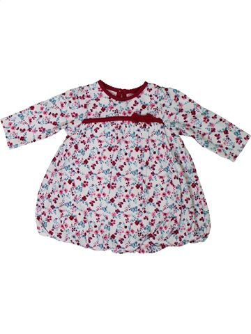 Robe fille GEORGE blanc 3 mois hiver #1306278_1