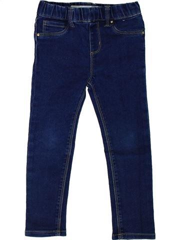 Pantalon fille PRIMARK bleu 5 ans hiver #1306309_1
