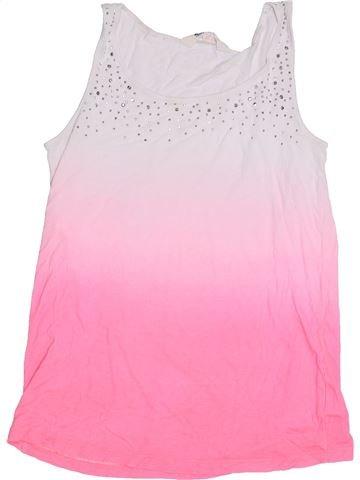 Camiseta sin mangas niña H&M rosa 14 años verano #1306375_1