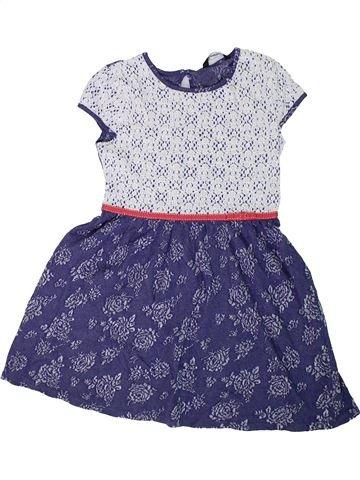Robe fille GEORGE violet 8 ans été #1306401_1