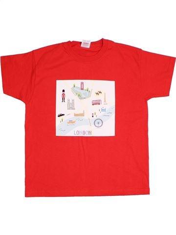 T-shirt manches courtes garçon FRUIT OF THE LOOM blanc 8 ans été #1306413_1