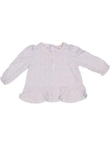 Camiseta de manga larga niña MINI CLUB blanco 9 meses invierno #1306426_1