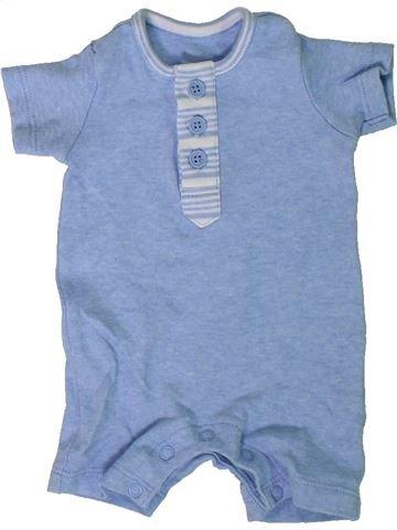 Combinación corta niño MATALAN azul 0 meses verano #1306468_1