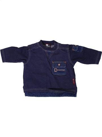 Sweat garçon BABY CLAIRE bleu 3 mois hiver #1306529_1