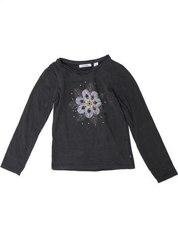 Camiseta de manga larga niña OKAIDI negro 6 años invierno #1306541_1