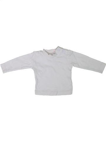 T-shirt manches longues unisexe C&A blanc naissance hiver #1306564_1