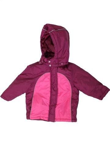 Abrigo niña BON PRIX violeta 3 años invierno #1306567_1