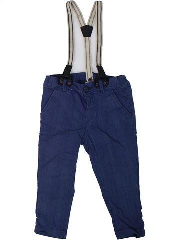 Pantalon garçon H&M bleu 18 mois hiver #1306629_1