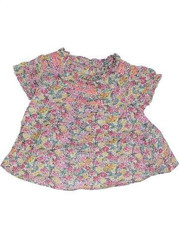 T-shirt manches courtes fille NEXT beige 12 mois été #1306638_1