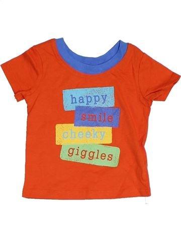 Camiseta de manga corta niño GEORGE azul 6 meses verano #1306671_1