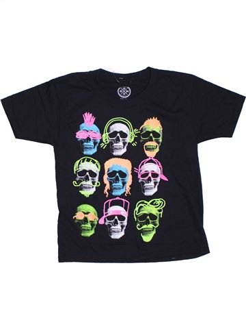 T-shirt manches courtes garçon GILDAN noir 7 ans été #1306758_1