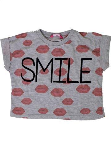 Camiseta de manga corta niña PRIMARK gris 13 años verano #1306948_1