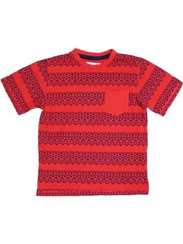 T-shirt manches courtes garçon M&CO rose 9 ans été #1306951_1