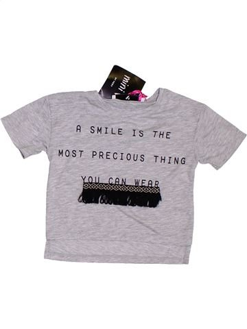 T-shirt manches courtes fille VERY IN FASHION gris 12 mois été #1306975_1