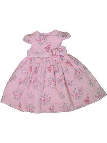 Vestido niña GEORGE rosa 2 años verano #1307052_1