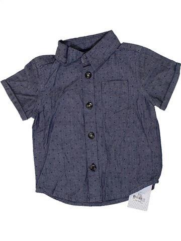 Camisa de manga corta niño PRIMARK azul 9 meses verano #1307077_1