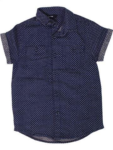 Chemise manches courtes garçon GEORGE bleu 5 ans été #1307251_1