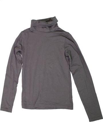 Camiseta de cuello alto unisex ALIVE gris 10 años invierno #1307311_1