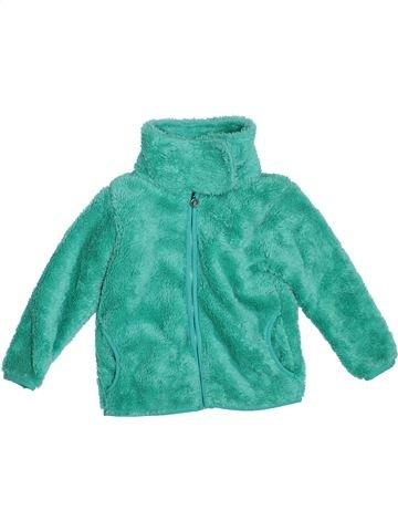 Veste fille TOPOLINO vert 4 ans hiver #1307393_1