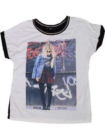 Camiseta de manga corta niña CANDY COUTURE blanco 11 años verano #1307417_1