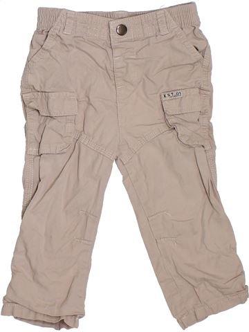 Pantalón niño F&F beige 18 meses verano #1307419_1