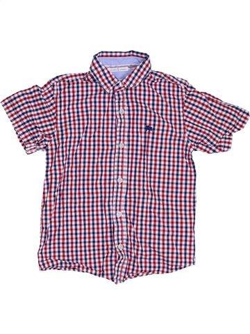 Camisa de manga corta niño JASPER CONRAN violeta 8 años verano #1307626_1