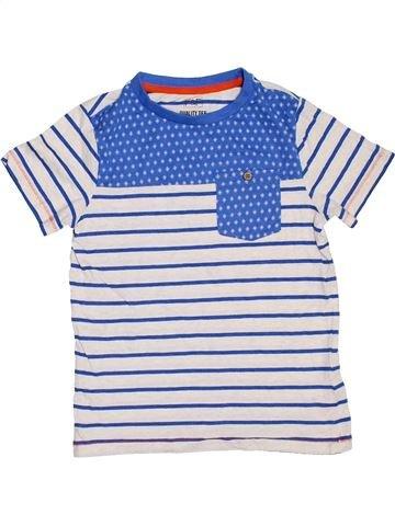 T-shirt manches courtes garçon F&F blanc 8 ans été #1307644_1
