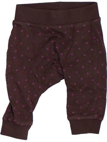 Pantalon fille MARKS & SPENCER marron 3 mois été #1307647_1