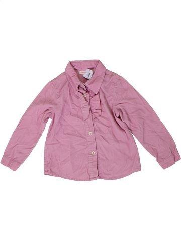 Blusa de manga larga niña PAPRIKA rosa 2 años invierno #1307665_1