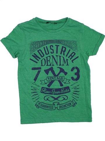 Camiseta de manga corta niño GEORGE verde 6 años verano #1307770_1