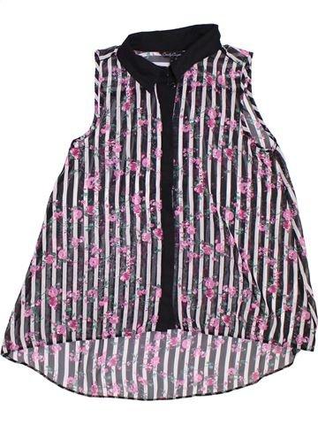 Blusa de manga corta niña CANDY COUTURE violeta 13 años verano #1307795_1