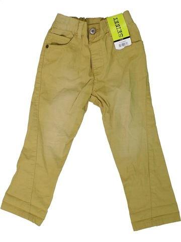 Pantalón niño GEORGE marrón 3 años verano #1307964_1