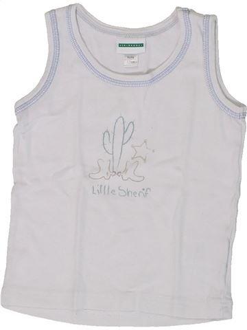 Top - Camiseta de tirantes niño VERTBAUDET blanco 3 años verano #1308170_1