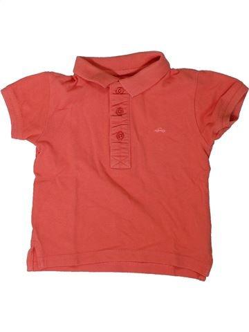 Polo de manga corta niño KIABI rojo 2 años verano #1308192_1