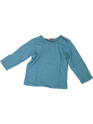 T-shirt manches longues garçon DPAM bleu 18 mois hiver #1308203_1