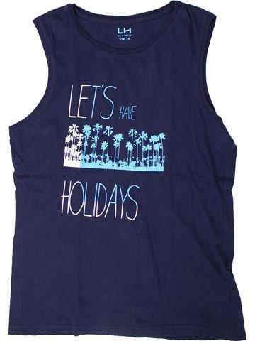 Top - Camiseta de tirantes niño LH BY LA HALLE azul 14 años verano #1308217_1